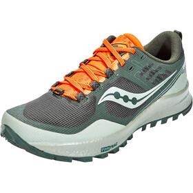 saucony Xodus 10 Shoes Men, desert/pine/orange